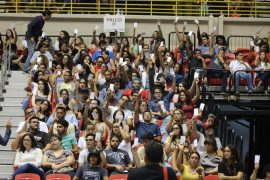 Quinta asamblea de estudiantes. (Glorimar Velázquez/ Diálogo)
