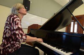 Brenda Hopkins en el Conservatorio de Música/7 de mayo 2012