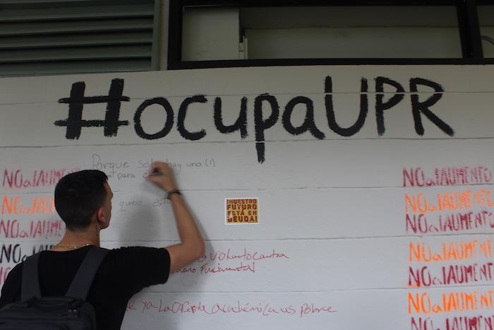 Ocupa UPR