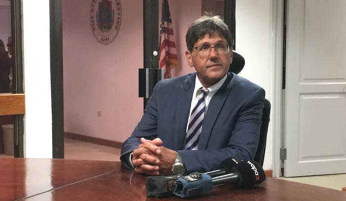 Darrel Hillman Barrera, presidente interino de la UPR. (Carla García / Diálogo)