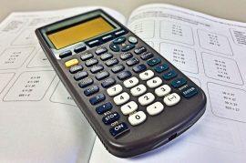 Matemáticas, calculadora