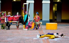 5 danza contemporánea Hincapé en Figuraciones de la compañía Taller Otra Cosa