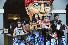 Campechada 2013, dedicada a Rafael Tufiño. Presentación de Agua, Sol y Sereno. (Ricardo Alcaraz)