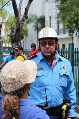 A diferencia del 1 de mayo, en la marcha no hubo confrontaciones entre manifestantes y la Policía. (Gil Rivera)