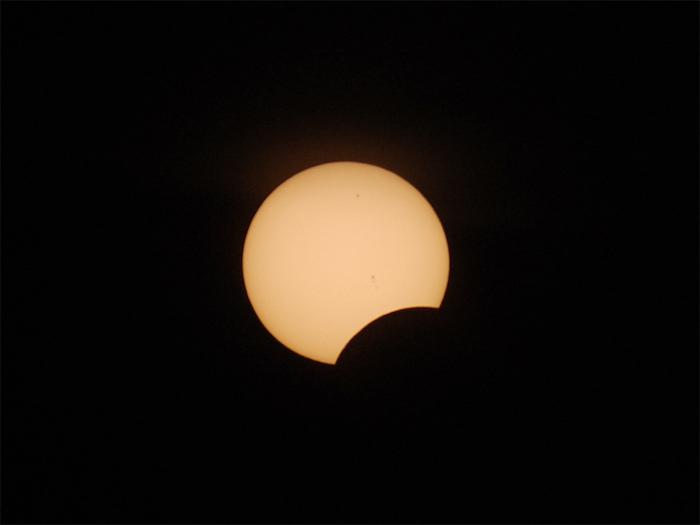 eclipse parcial 2012 visual hunt