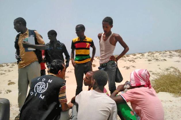 migrantes en yemen