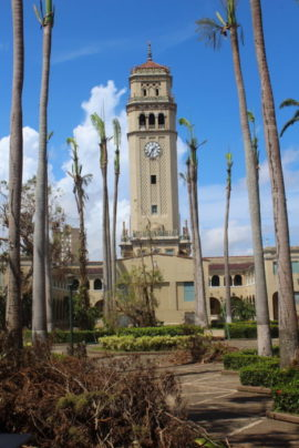 La Torre del Recinto quedó intacta.  (Víctor Rodríguez-Velázquez/Diálogo)