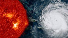 Llamaradas solares y huracanes ecoportal