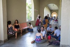 1er dia clases RRP UPR estudiantes en Humanidades