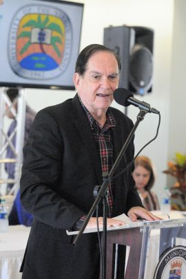 Comisionado de la LAI, José E. Arrarás. (LAI)