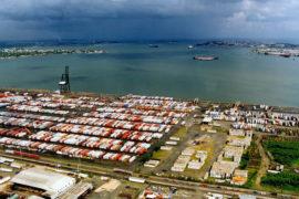 San Juan Port with Cargo