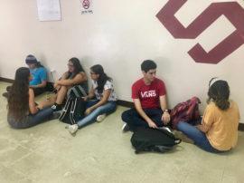 Estudiantes de la UPR en Bayamón. (Suministrada)