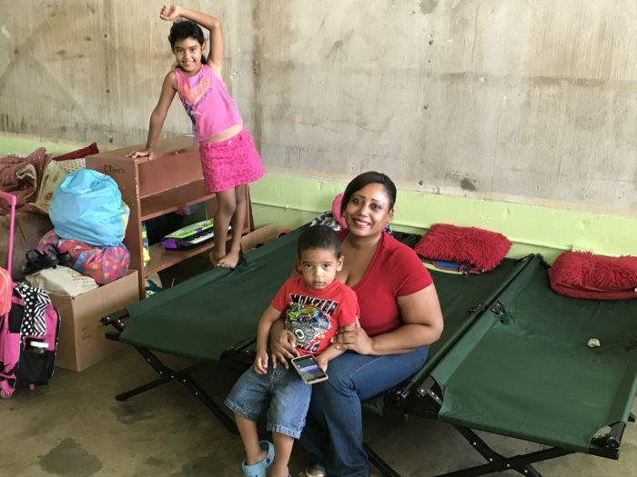 Vilmarie Ortiz y sus hijos