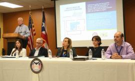 Conferencia de prensa encabezada por el Secretario de Seguridad Pública, Héctor Pesquera, para hablar sobre las muertes causadas por el huracán María.