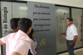 Hillman dialogó con los estudiantes de la UPR en Arecibo. (Suministrada)