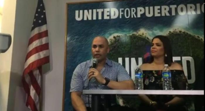 Carlos Beltrán en conferencia de prensa.