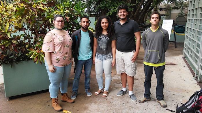 Angelic Arzola, Germán Vazquez, Lakeisha Ramos, Kelby Palencia y Pedro Rodríguez conformaron el grupo colegial que ganó la competencia.