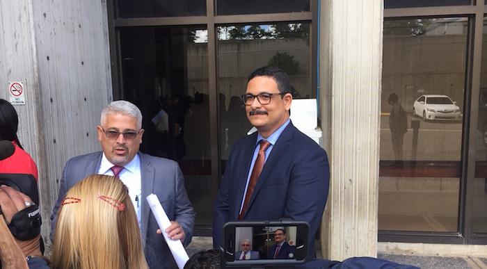 José Velázquez Grado, abogado de defensa del expresidente de la UPR Uroyoán Walker Ramos. (Glorimar Velázquez / Diálogo)