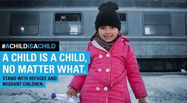 Un niño es un niño sin importar nada. Crédito: Unicef.