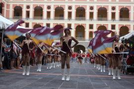 Marching Band, Abanderadas y Dance Team UPR Humacao en Cuartel de Ballajá