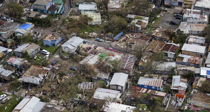 ista aérea de Fajardo, al este de Puerto Rico, unos días después del huracán María. Foto por Dennis Rivera Pichardo | Centro de Periodismo Investigativo