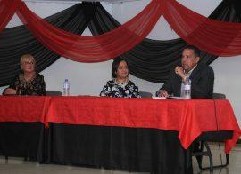 Empresarios visitan la UPR en Ponce. (Suministrada)