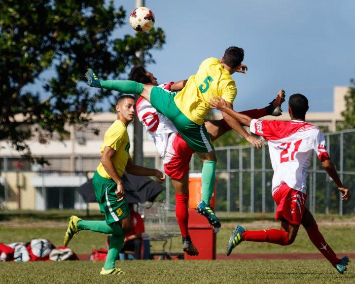 Los Tigres de la Interamericana pasaron a la semifinal al eliminar a los Gallitos de la UPR de Río Piedras. (J. Hudo Castañer)