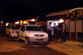 Policía dentro de UPR Aguadilla