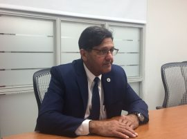 presidente interino UPR Darrel Hillman
