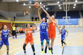 Las tainas del Turabo enfrentandose a las pioneras de la Catolica en el baloncesto femenino #LAI