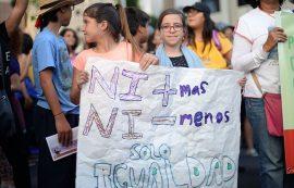Marcha 8 de marzo (Andrés Santana/Diálogo)