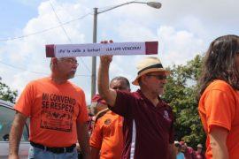 Protesta Hermandad APPU