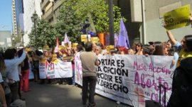 Manifestacion aborto Chile ips