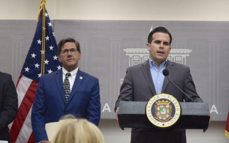 Hillman y el gobernador