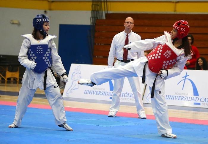 taekwondo suministrada