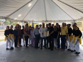 Jubilados, estudiantes y profesores de UPRA