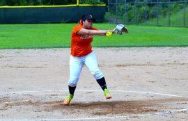Marle Delgado fue la lanzadora ganadora por el Turabo. (Z. Acosta LAI)