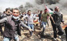 Hamás señaló que las manifestaciones procuran llamar la atención sobre las difíciles condiciones de vida en el territorio palestino de Gaza. Crédito: Cortesía AFP.