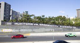 Mural en la Avenida Baldorioty de Castro en San Juan. (Cristina Martínez/ CPI)