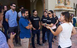 Conferencia de prensa en solidaridad con Diálogo. (Cortesía Ricardo Alcaraz/ Diálogo)