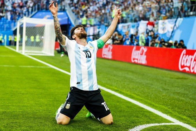 Lionel Messi Twitter