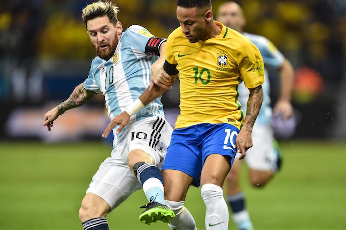 Lionel Messi y Neymar (FIFA)