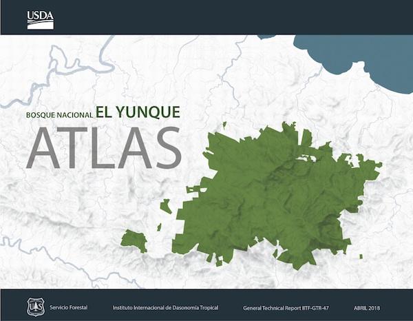 Portada del Atlas del Bosque Nacional El Yunque