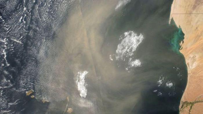 polvo de sahara NASA