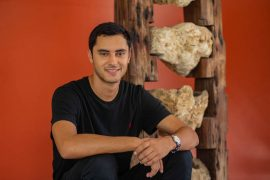 Osvaldo Delbrey estudiante ganador competencia Flour – Escuela Arquitectura UPR 3