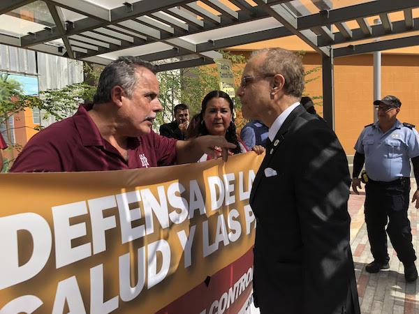 Protesta APPU UPR Arecibo cortesia de Jornada Noticiosa