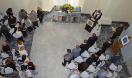 Protocolo actos funebres artista Arnaldo Roche Rabel