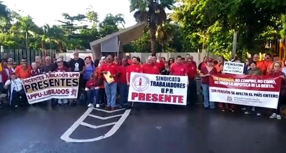 manifestación adt central