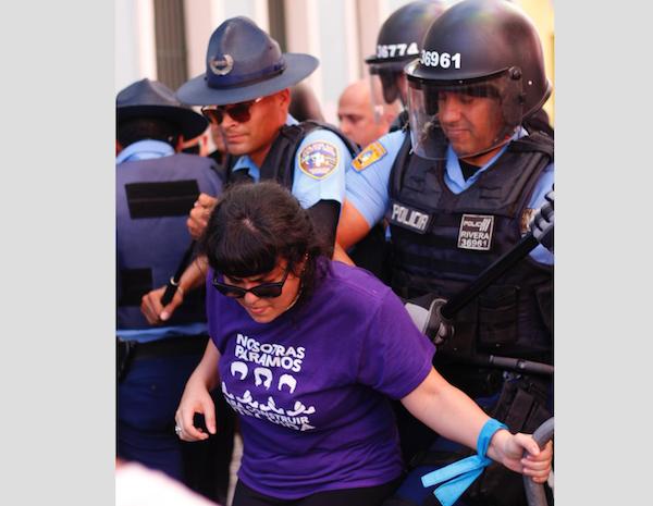 violencia mujeres en fortaleza foto por Valeria Rodriguez Sotomayor de colectiva feminista