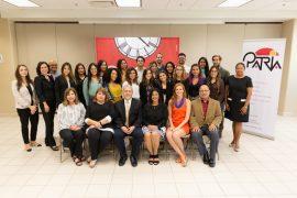 Estudiantes, profesores y colaboradores del proyecto PATRIA